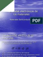 Propiedades electrónicas de los materiales