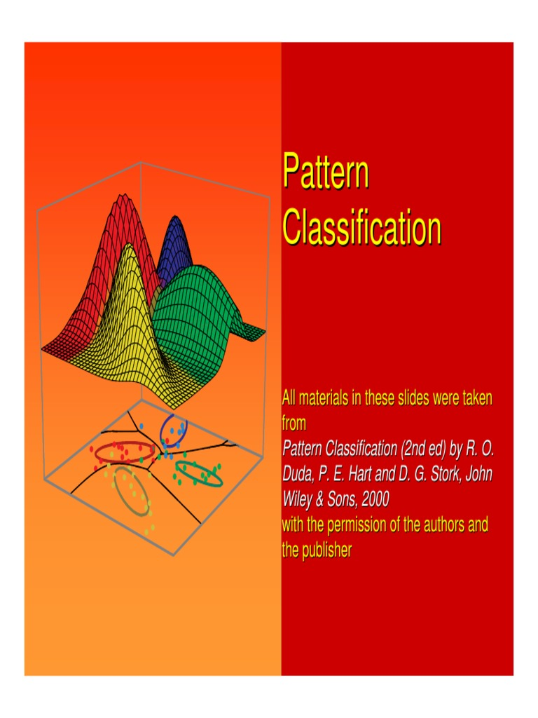 Pattern classification: richard o. Duda: 9781118456682: amazon. Com.