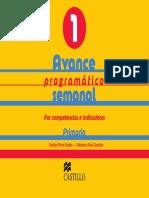 126810763 Avance Programatico Semanal Por Competencias e Indicadores 1 Primer Grado Primaria 131214115219 Phpapp02