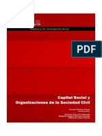 Capital Social y OSC Israel Palma Cano