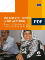 Building Civil Society in the West Bank