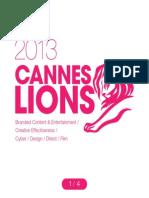 Cannes Lions 2013 01 En