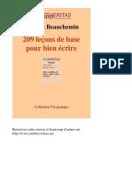 209 Difficultes Du Francais