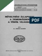 Dr. Juhász Kálmán - Műveltségi állapotok a a Temesközben a török világban