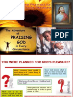 You Are Planned for Gods Pleasure