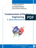 Fundamentals of Electrical Engineering - N FE 2. Basic Electrical Circuits
