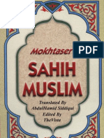Mokhtaser Sahih Muslim Volume (3)