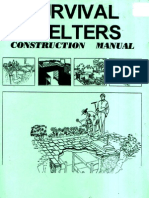 Survival.shelters. .Construction.manual