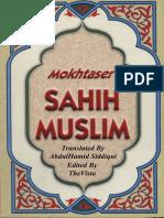 Mokhtaser Sahih Muslim Volume (6)