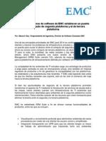 EMC Mejora Software Que Estblecen Puente Entre 2da y 3ra Plataforma