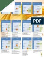 Calendário AIBCC 2014