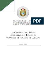 Ley Orgánica del Poder Legislativo del Estado de Veracruz