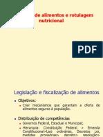 Aula -Rotulagem de Alimentos
