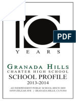 granada school profile 2013-2014