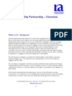 Limited Liability Partnership Overview