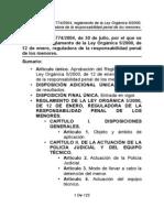 Real Decreto 1774-2004 Reglamento Ley Del Menor