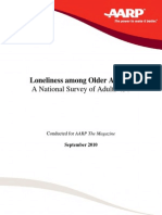 AARP 2010 - Loneliness Among Older Adults