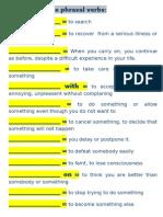 15 Useful Phrasal Verbs Additional