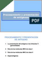 Presentacion de Antigenos