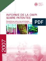 Informe OMPI Sobre Patentes 2007