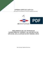 Reglamento de Los Tribunales de Tierras