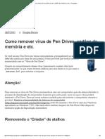 Como remover vírus de Pen Drives, cartões de memória e etc. _ TecleAlgo..