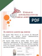 Unidad 2 Automatización SQL Server