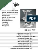 Gorenje MG2000TJW