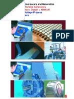 Master Manual for Induction Motors and Generators RevE