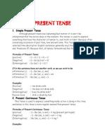 16 Tense in English class