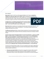 Fraser PolyMet Letter