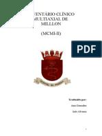 MCMI Manual