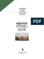 Gyilkolj Ertem - Karen Rose
