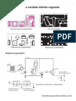 Diagrama Fuente Lm317 y Tip 3055