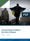 Concrete Steps to Address the Crisis in Ukraine