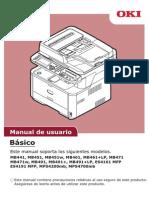 Manual Okidata Mb461