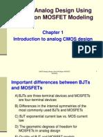 9080 CMOS Analog Design Chapter 1