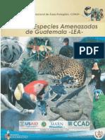 Lista de especies amenazadas de Gutemala -LEA.pdf