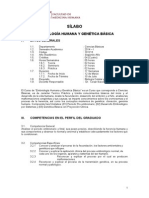Silabus Embriologia 2014