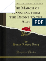 The March of Hannibal From the Rhone to the Alps 1000258329