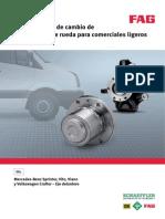 FAG. Manual Tcnico Reparacion mangueta Mercedes Sprinter. Vito .Viano.pdf