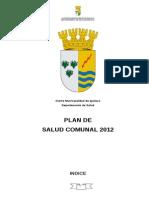 Plan Comunal Salud 2012 Final