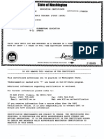 Heather West Education Certificates