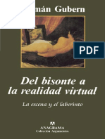 Gubern+Roman+ +Del+Bisonte+a+La+Realidad+Virtual