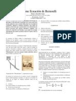 Informe Bernoulli Textos