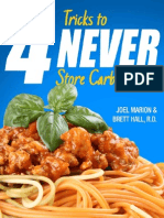 4 Tricks to NEVER Store Carbs as Fat G1981