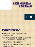 Audit Penerimaan