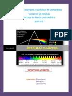 Cuántica - Espectrometro