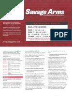 Savage MDL93 .17HMR Manual