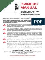 Mossberg 590 Manual